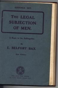 Legal subjection of men